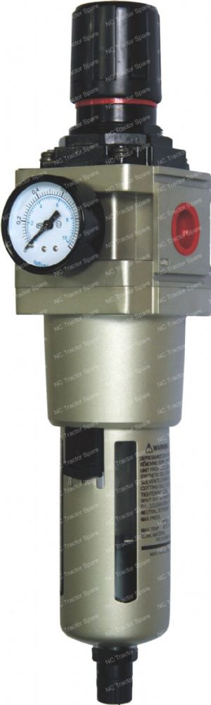 "3/4"" Outlet Filter Regulator c/w Gauge"